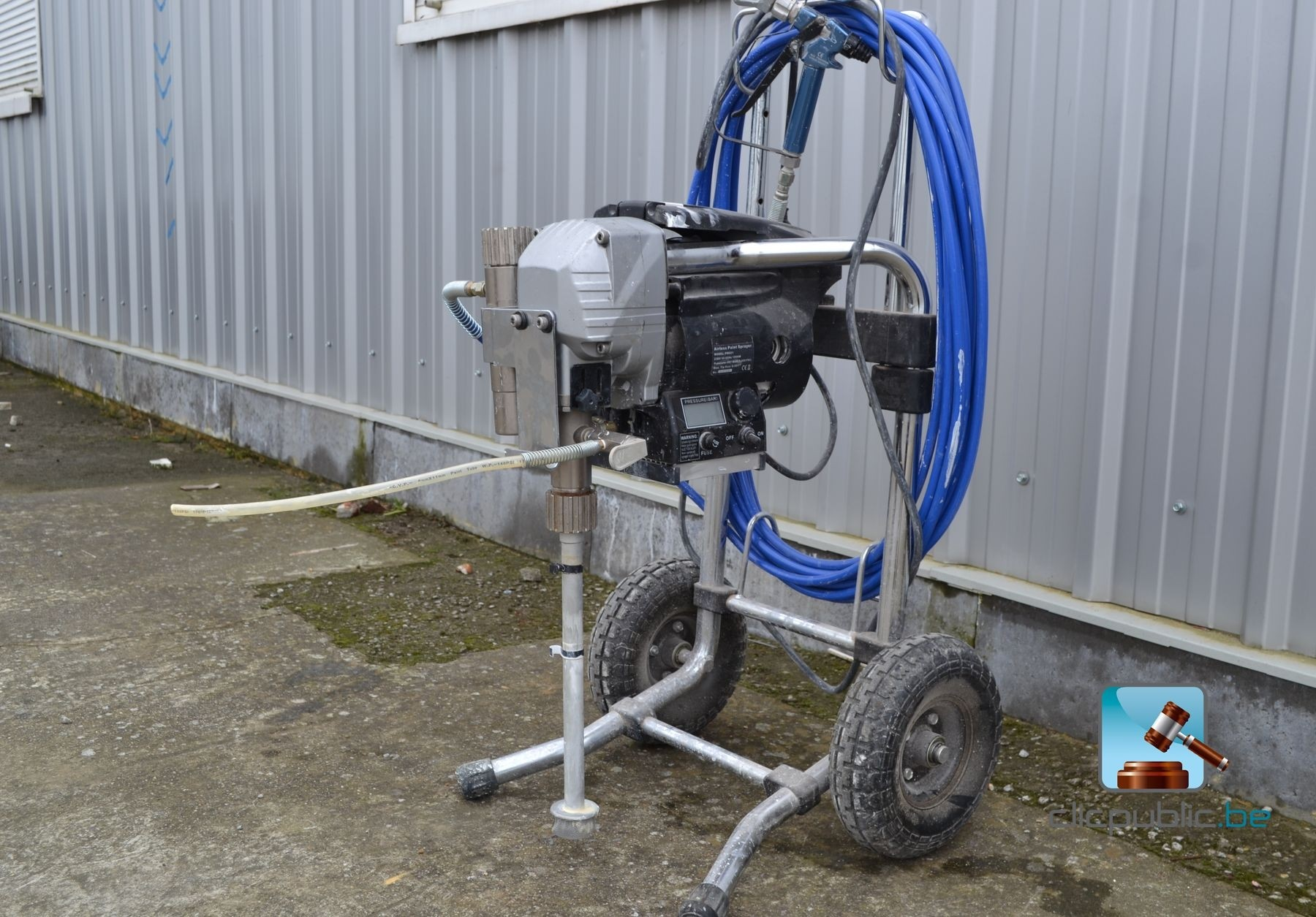 Paint Spraying Machine Airless Paint Spray Pm021 Ref 25 For Sale On