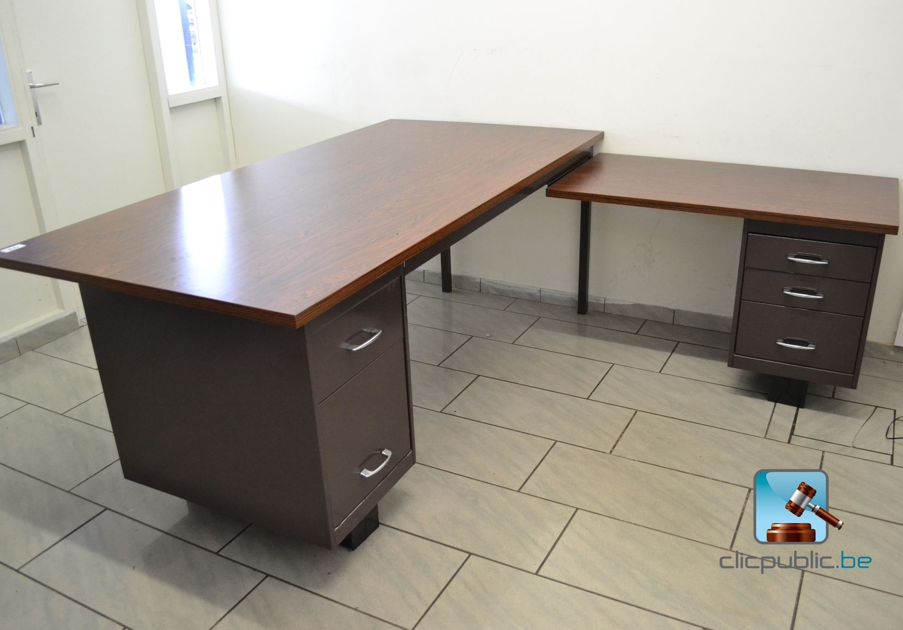 L Shaped Desk On Sale The Discount Sale 60 Inch Cabot