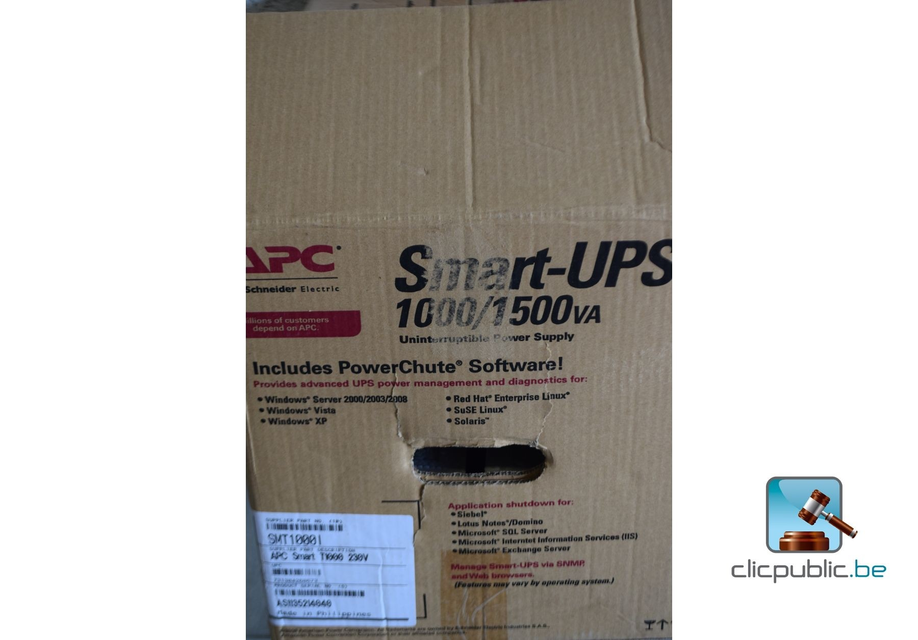 Inverter APC Smart UPS-1000/1500va (ref  18)