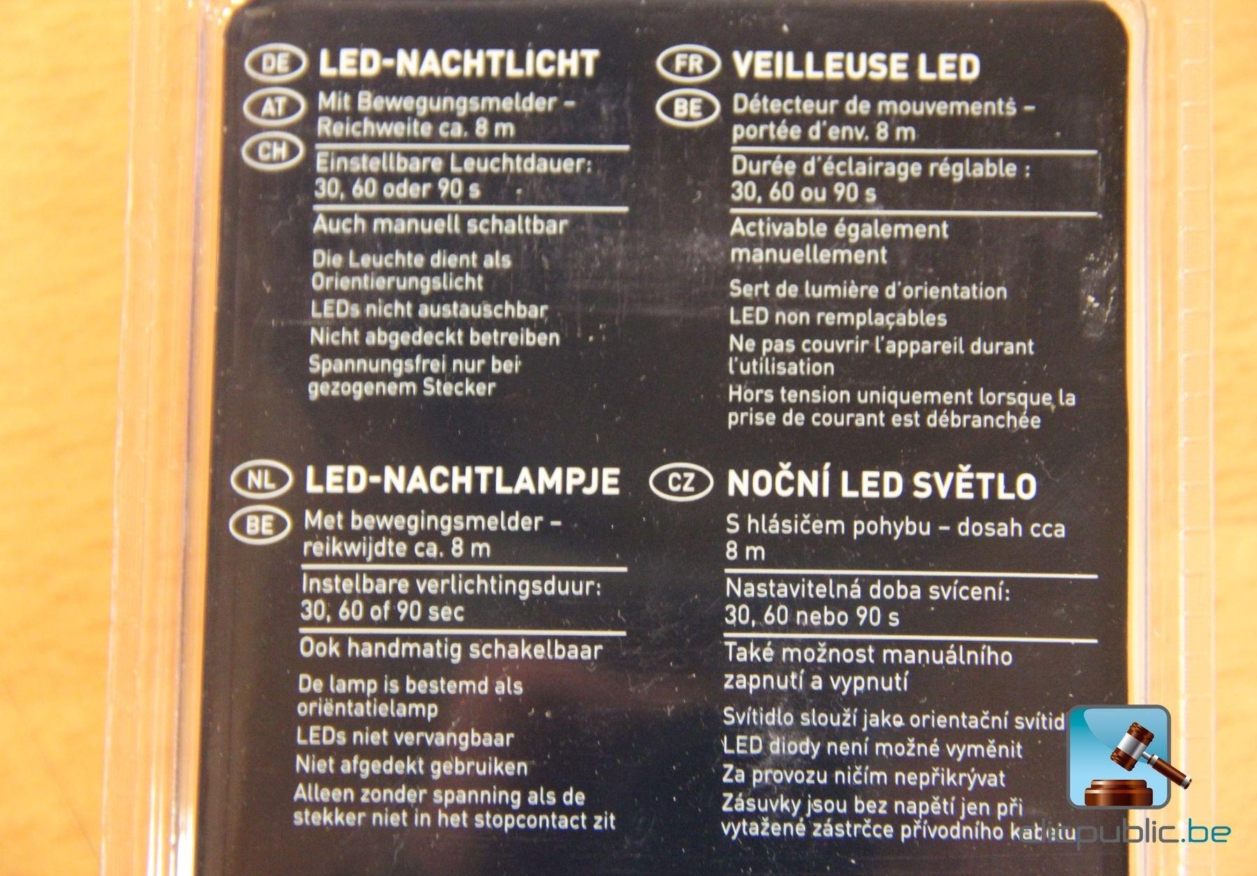 Livarno led night light - 40 Led Night Lights Livarno Lux Ref 7003 31