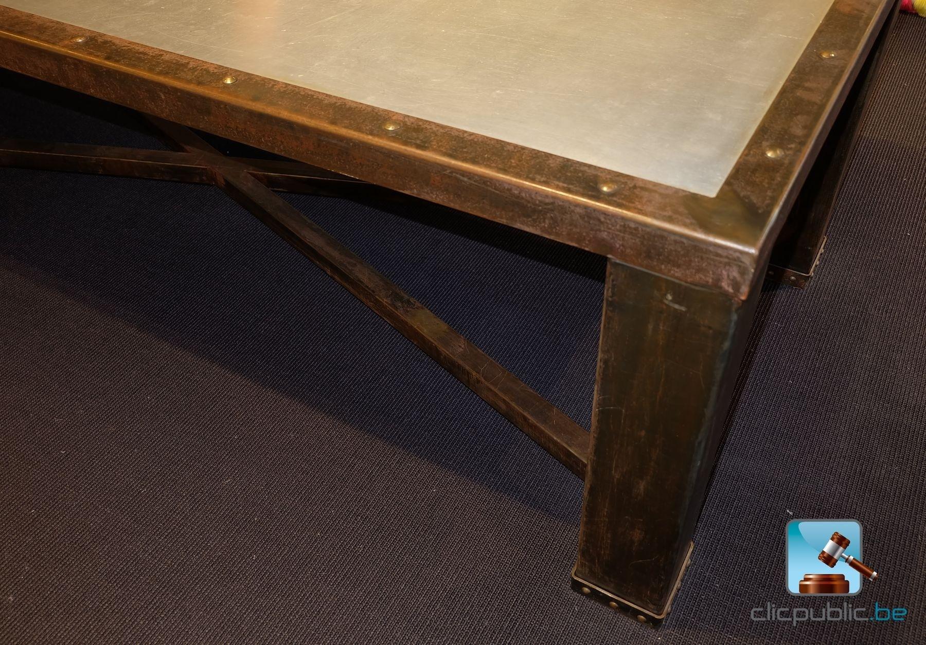 Table de salle manger de marque barak 39 7 en acier ref 10 for sale on - Tafel salle a manger ontwerp ...