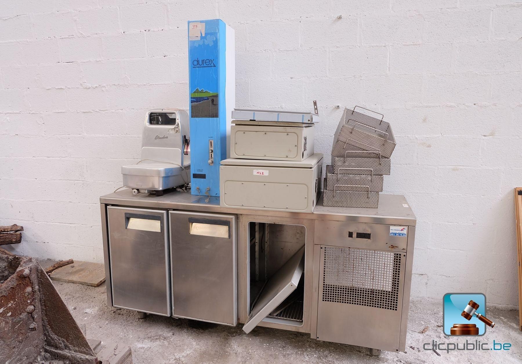 varia horeca distributeur durex meuble frigo sans
