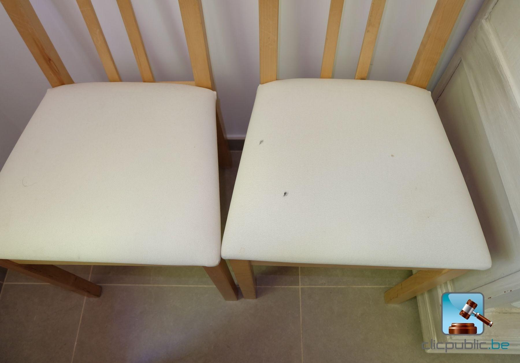 furniture 1 buffet en ch ne 4 chaises en rable 2 chaises hautes 2 chaises en teck ref 49. Black Bedroom Furniture Sets. Home Design Ideas
