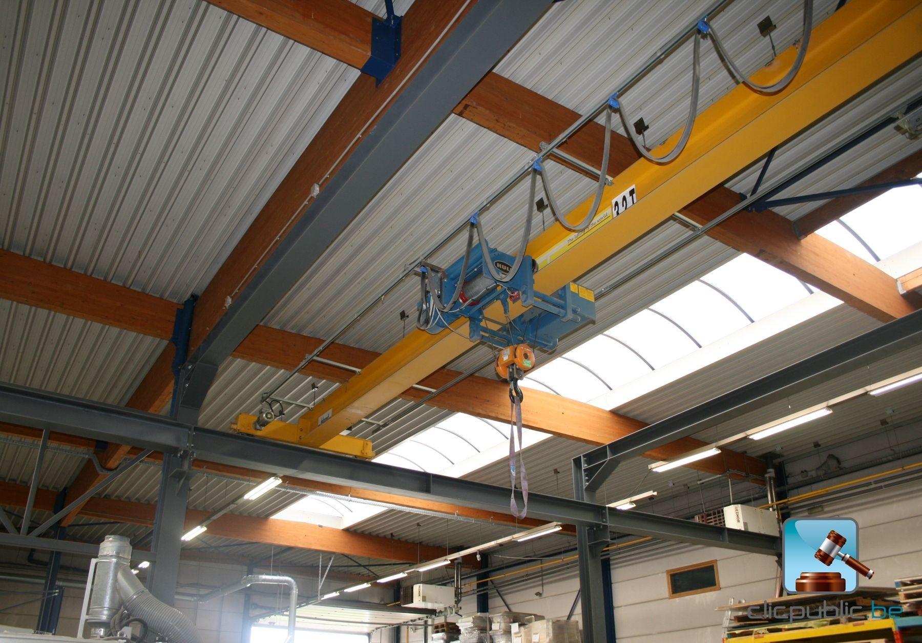 Overhead Crane Failure : Bridge crane single girder delaunoit on sale