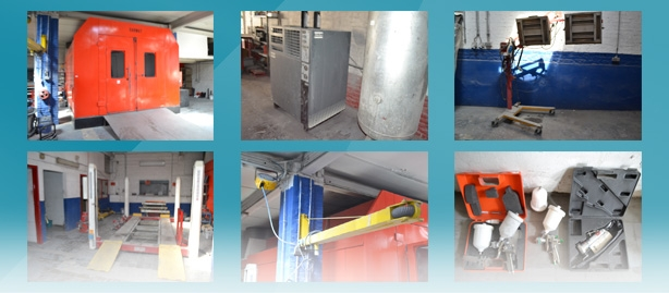 Online auction of garage equipement and tools on clicpublic.be