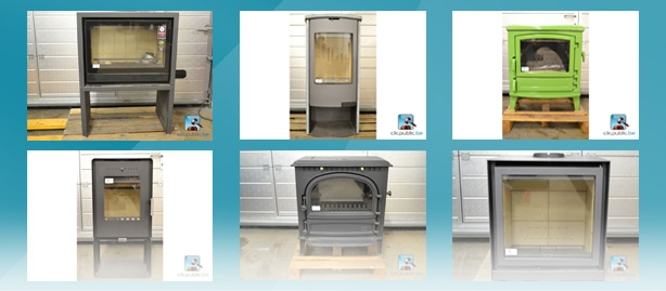 Online auction of wood stoves on clicpublic.be
